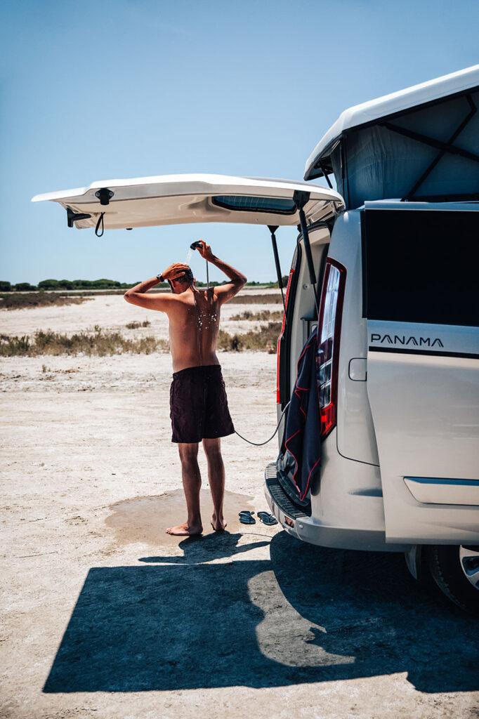 Panama Van Shower Equipment