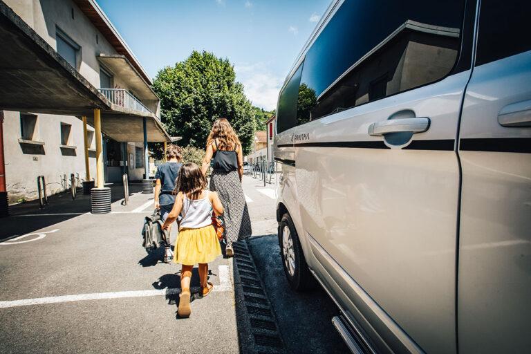 Bring kids to school with your Panama Van