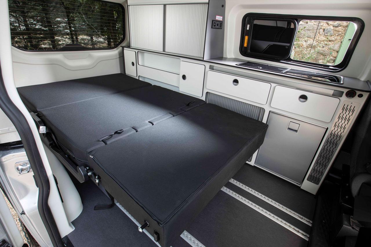 Panama Van Bed Equipment