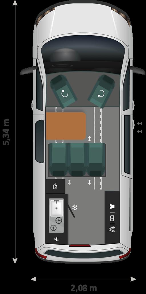 Panama Van P54 Day Implant