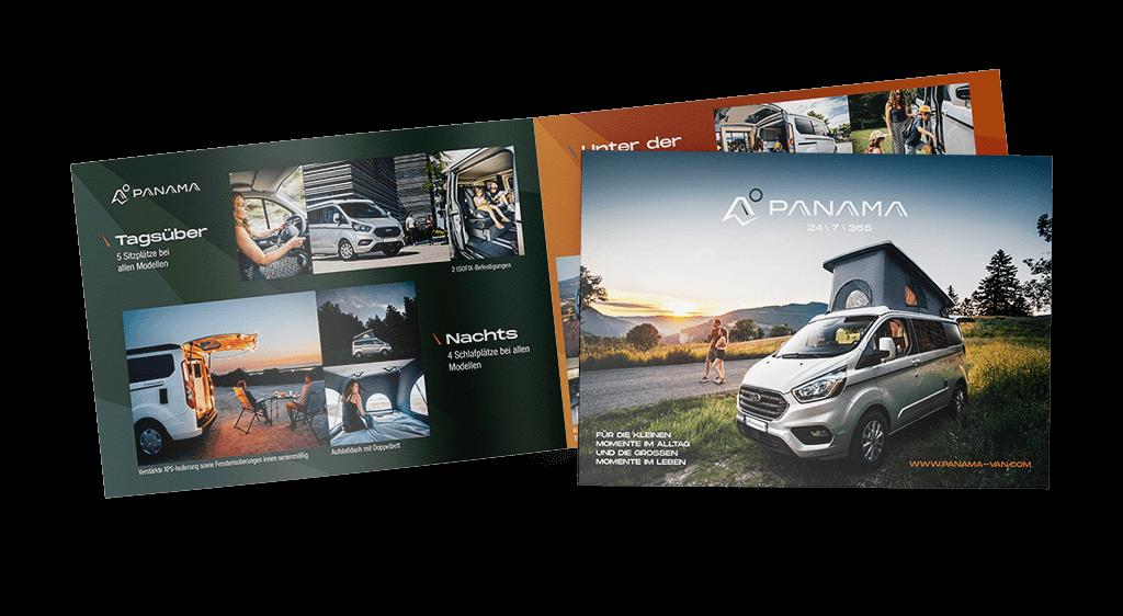 Panama Vans Brochure (DE)