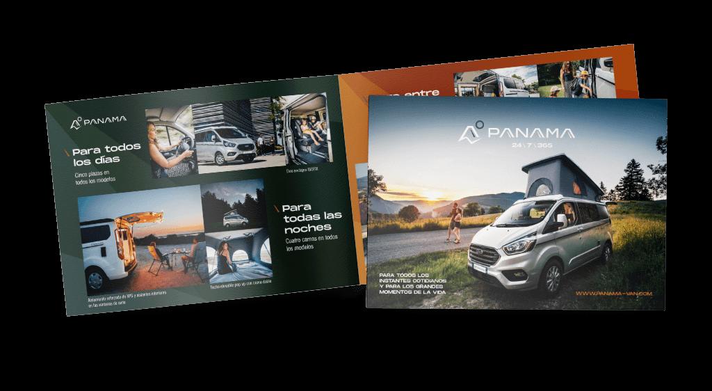 Panama Vans Brochure (ES)