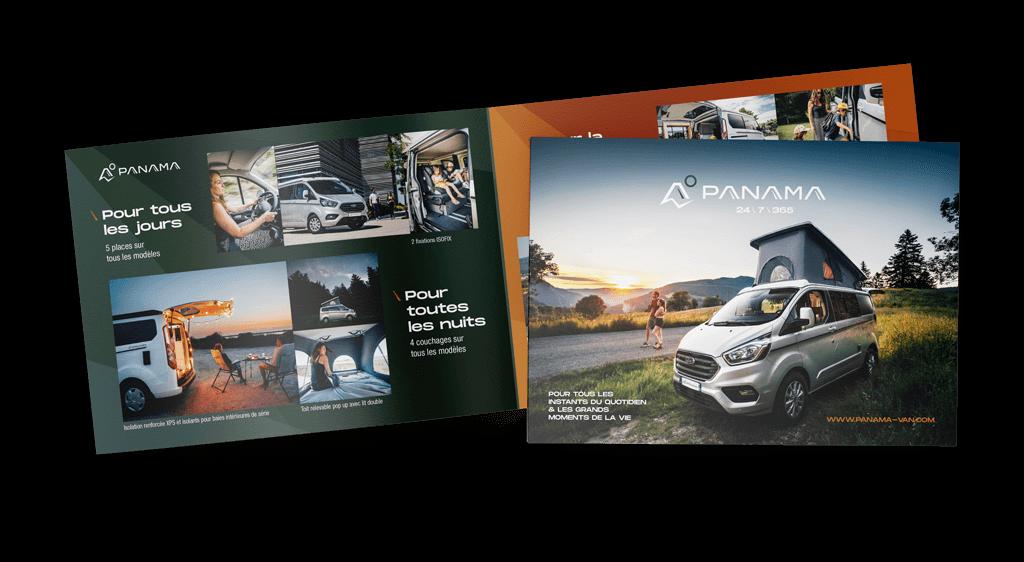 Panama Vans Brochure (FR)