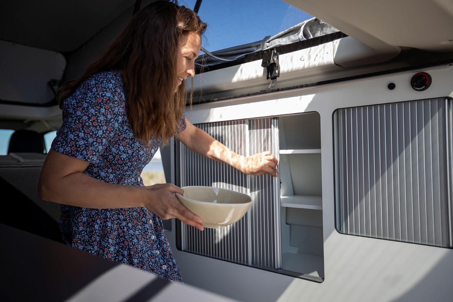 Panama Van Kitchen Storage