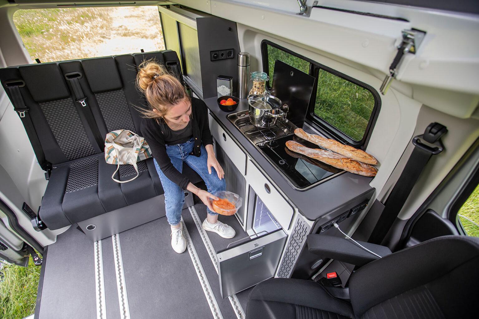 Panama Van Kitchen Equipment